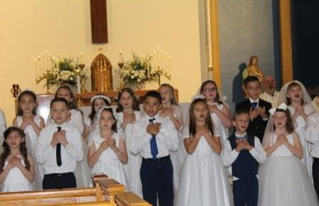 First Communion Held May 4, 2019